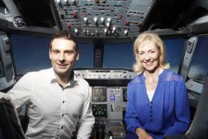 Effizienter als große Airlines