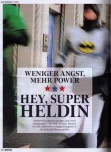 Hey, Super Heldin