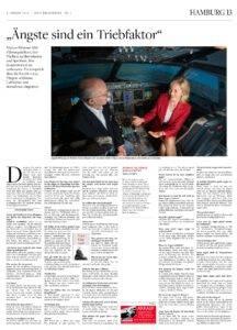 Aengste sind ein Triebfaktor Mentaltrainerin Marion Klimmer im Welt am Sonntag Interview